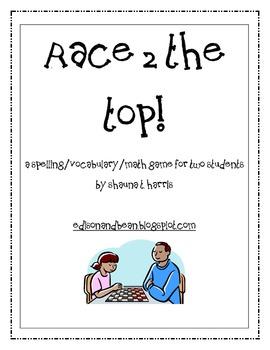 Race to the Top Spelling Game