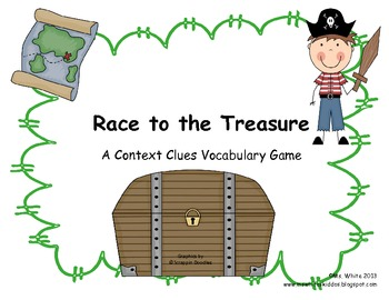 Race to the Treasure: A Pirate Context Clues Vocabulary Game