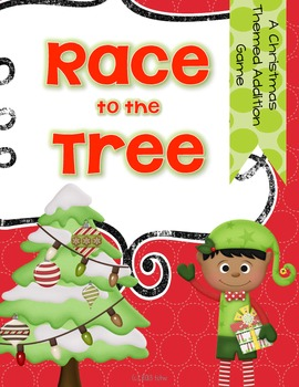 Race to the Tree {an addition game for Christmas}
