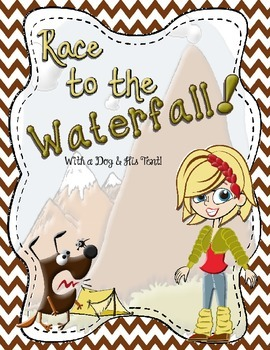 Classroom Game Boards #2 - Race to the Waterfall Task Card Game