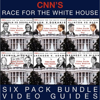 Race to the Whitehouse Video Guide Bundle + WebLinks & Keys