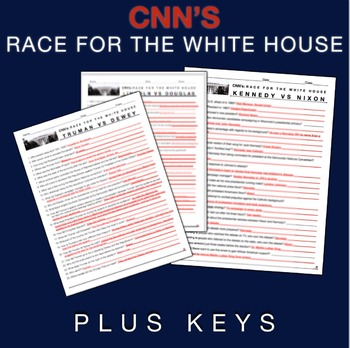 Race To The Whitehouse Video Guide Bundle + WebLinks U0026 Keys