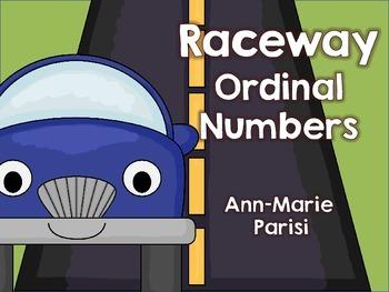 Race way Ordinal Numbers FREEBIE