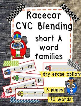 Racecar CVC Blending - Short A