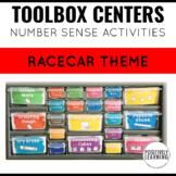 Number Sense Centers Toolbox Racecar