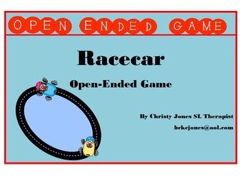 Racecar Open Ended Game