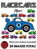 Racecars Clip Art
