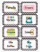 Racer/ Racecar Themed Classroom Supply Tags
