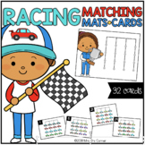 Racers Matching Mats and Activity Cards (Patterns, Colors,
