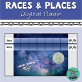 Races & Places: Digital speech-therapy game, PowerPoint, r