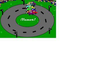 Racetrack Rewards Bilingual Spanish/English