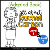 Rachel Carson Adapted Book [Set of 2] | Famous Women in History