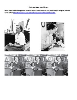 Rachel Carson Biography Study