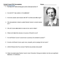 Rachel Carson DDT Environmentalism PBS Doc Questions and V