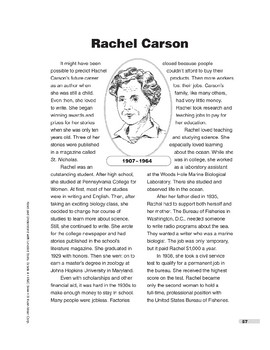 Rachel Carson (Lexile 830)