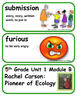 ReadyGen Rachel Carson: Pioneer of Ecology  Vocabulary  Wo