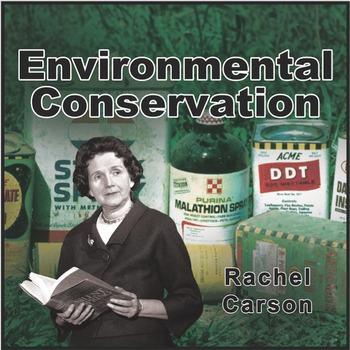Rachel Carson Poster (Influential Scientists Series)