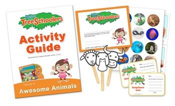 Rachel & The TreeSchoolers - Awesome Animals