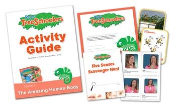 Rachel & The TreeSchoolers - The Amazing Human Body