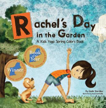 Yoga Spring Book for Kids - Rachel's Day in the Garden
