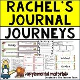 Rachel's Journal | Journeys 5th Grade Unit 5 Lesson 24 Printables