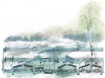 "Rachmaninov ""Spring water"""
