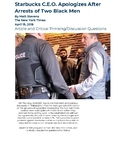 Racial Discrimination at Starbucks? Article and Critical Thinking/Discussion Q's
