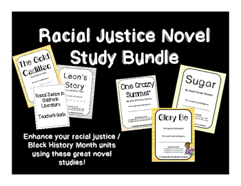Racial Justice Novel Study Bundle