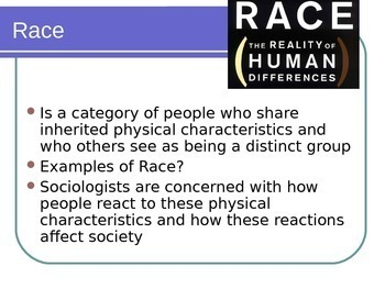 Racial and Ethnic Relations Powerpoint