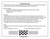 Racin' Multiplication Review Game