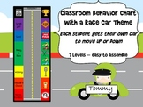 Racing Car Behavior Chart - with movable cars!
