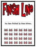 Racing Car Themed Paper Management