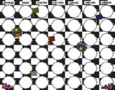 Racing Cars Decor (Calendar, Numbers, Days, Years) SPANISH