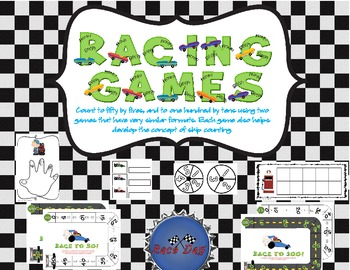 Racing Games: Counting by 5's and 10's While Developing Concept