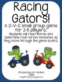 Racing Gators!