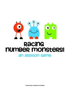 Racing Number Monsters!