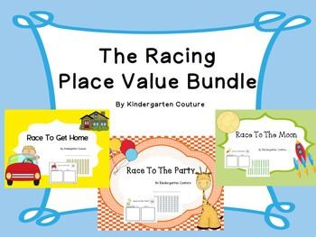 Racing Place Value Bundle