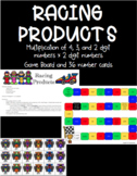 Multiplication Game- Racing Products