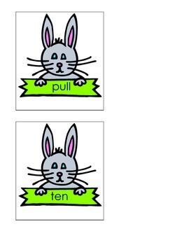 Racing Rabbits ABC order