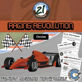Racing Revolution -- Circle, Circumference & Arc Length Project