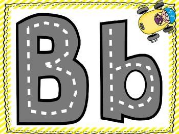 Alphabet Roads Learning Mats