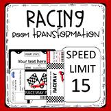 Racing Room Transformation Materials