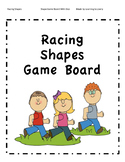 Racing Shapes: A Shape Game Board With Dice