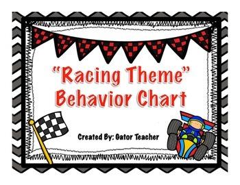 Racing Theme Behavior Chart