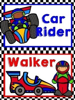 Racing Theme Go Home Chart