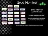 Racing Themed Attendance