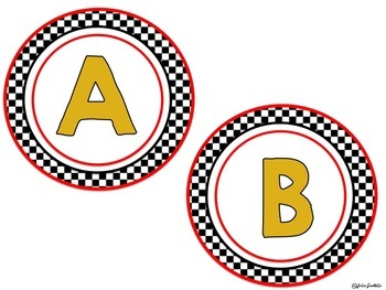 Racing Themed Classroom Decor Bundle