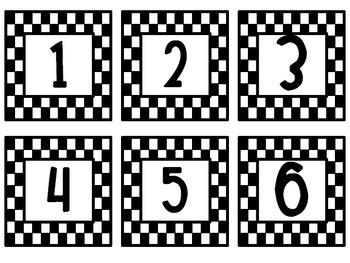 Racing Themed Classroom Packet