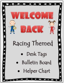 Racing Themed Classroom Set