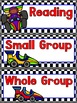 Racing Themed EDITABLE Schedule Cards